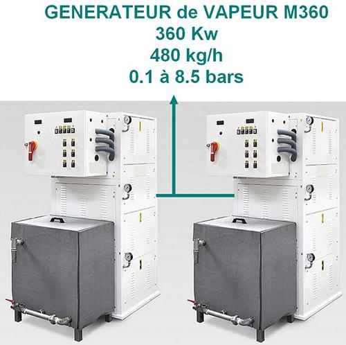 MA 360- 250 à 480 Kgs/H