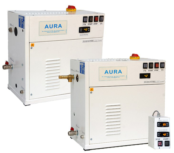 MA 9 - 0.5 Bars - 3 à 25 kg/heure avec contrôle de température