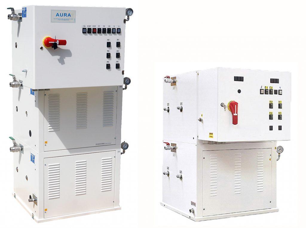 MA 300 - generateur de vapeur 400 kgs/heure 300 kw