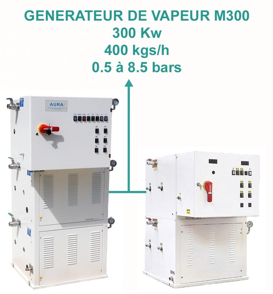 MA 300- 330 à 400 kgs/H