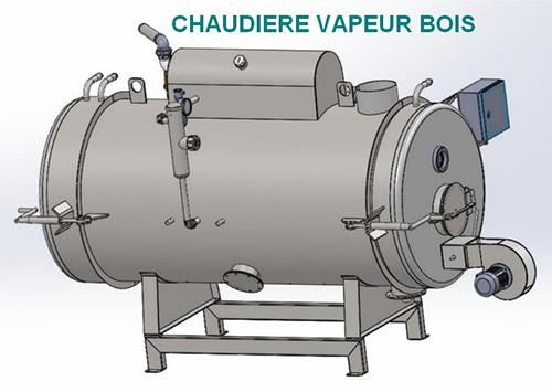 Schéma Chaudière vapeur bois 0.5 bars