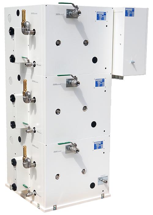 Générateur de vapeur MA180 connexions coté et arrière